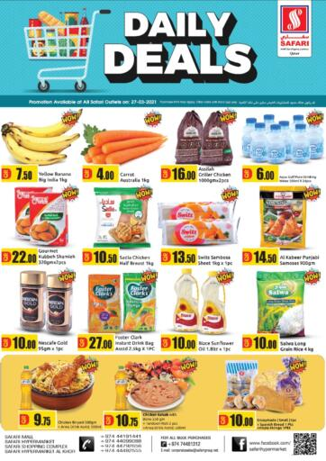 Qatar - Al Wakra Safari Hypermarket offers in D4D Online. Daily Deals. . Only On 27th March