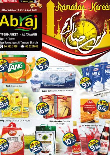 UAE - Sharjah / Ajman Abraj Hypermarket offers in D4D Online. Ramadan Kareem. . Till 14th April