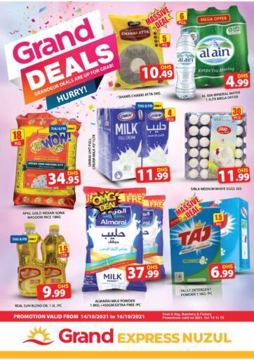 UAE - Dubai Grand Hyper Market offers in D4D Online. Express Nuzul,Dubai. . Till 16th October
