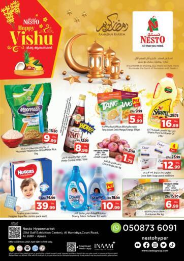 UAE - Sharjah / Ajman Nesto Hypermarket offers in D4D Online. Al Jurf - Ajman. . Till 14th April