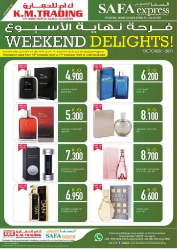 Oman - Salalah KM Trading  offers in D4D Online. Weekend Delights!. . Till 17th October