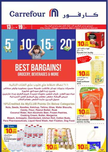 Qatar - Al Wakra Carrefour offers in D4D Online. 5,10,15,20 QAR Offer. 5,10,15,20 QAR Offer Are Available At Carrefour.  Offers Are Valid  Till 19th January. Hurry Up! Enjoy Shopping!!!!. Till 19th January