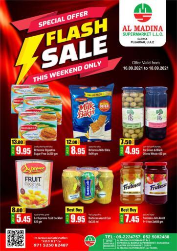UAE - Fujairah Al Madina Supermarket LLC offers in D4D Online. Gurfa, Fujairah. . Till 18th September