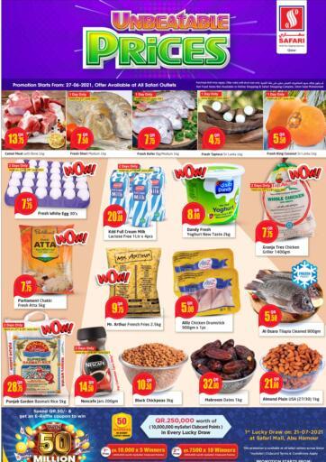 Qatar - Al-Shahaniya Safari Hypermarket offers in D4D Online. Unbeatable Prices. . Till 30th June
