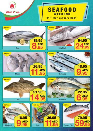 UAE - Abu Dhabi West Zone Supermarket offers in D4D Online. Seafood Weekend. . Till 23rd January