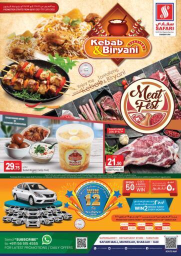 UAE - Dubai Safari Hypermarket  offers in D4D Online. Kebab & Biriyani Festival. . Till 12th January