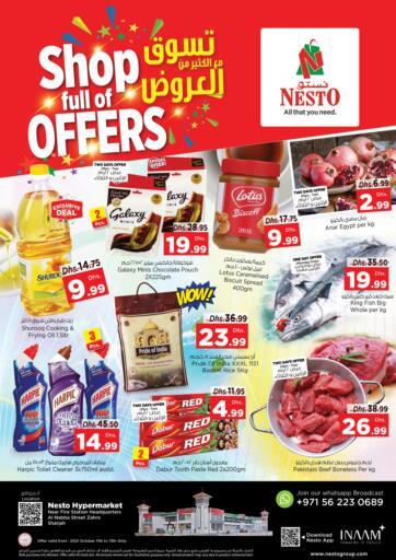 UAE - Fujairah Nesto Hypermarket offers in D4D Online. Al Nabba Street Zahra - Sharjah. . Till 13th October