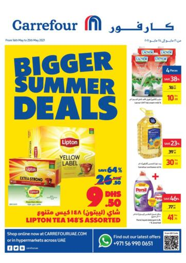 UAE - Dubai Carrefour UAE offers in D4D Online. Bigger Summer Deals. . Till 25th May