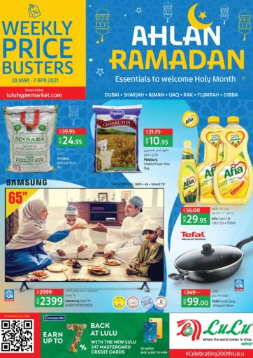 UAE - Al Ain Lulu Hypermarket offers in D4D Online. Ahlan Ramadan. . Till 7th April