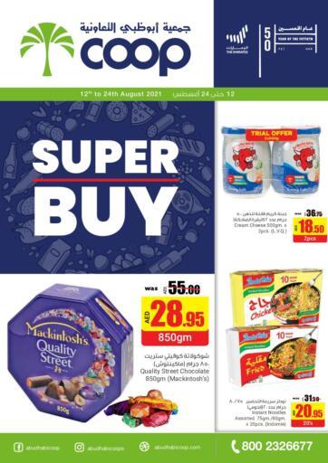 UAE - Abu Dhabi Abu Dhabi COOP offers in D4D Online. Super Buy. . Till 24th August