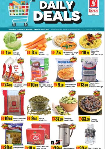 Qatar - Al Wakra Safari Hypermarket offers in D4D Online. Daily Deals. . Only On 27th February