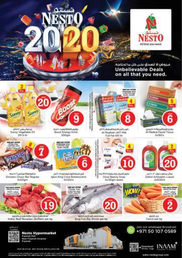 UAE - Fujairah Nesto Hypermarket offers in D4D Online. Fujairah Mall. . Till 23rd October