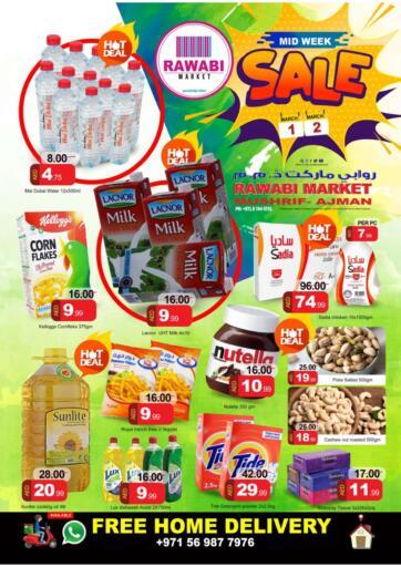 UAE - Sharjah / Ajman Rawabi Market Ajman offers in D4D Online. Mushrif, Ajman. . Till 2nd March