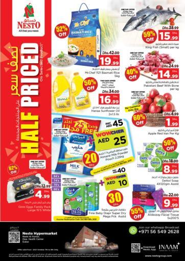 UAE - Sharjah / Ajman Nesto Hypermarket offers in D4D Online. Nadd Al Hamar, Dubai. . Till 9th October