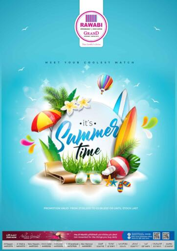 Qatar - Al-Shahaniya Rawabi Hypermarkets offers in D4D Online. Its Summer Time. Its Summer Time Offers  Are Available At Rawabi Hypermarkets. Offers Are Valid  Till 2nd June.   Enjoy!  . Till 2nd June