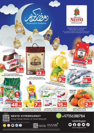 UAE - Sharjah / Ajman Nesto Hypermarket offers in D4D Online. King Faisal, Sharjah. . Till 21st April