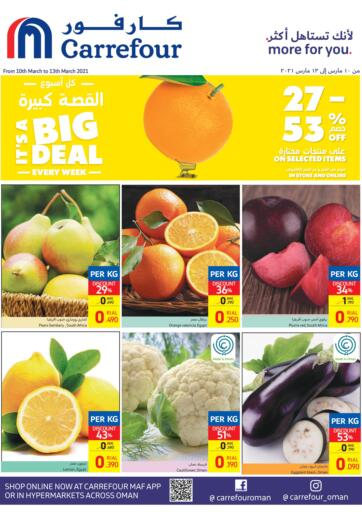 Oman - Salalah Carrefour offers in D4D Online. Special Offer. . Till 13th March