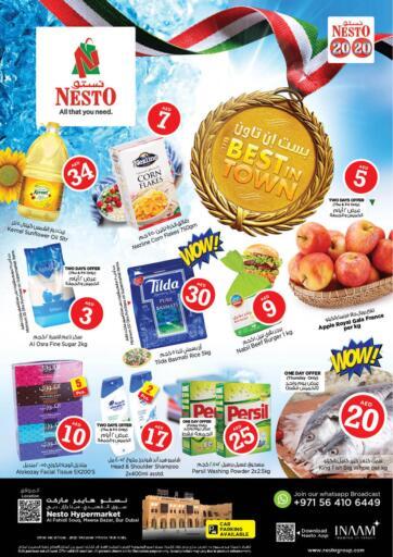 UAE - Sharjah / Ajman Nesto Hypermarket offers in D4D Online. Al Fahidi, Meena Bazaar, Bur Dubai. . Till 16th October