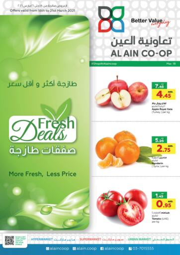 UAE - Abu Dhabi Al-Ain Co-op Society offers in D4D Online. Fresh Deals. . Till 21st March