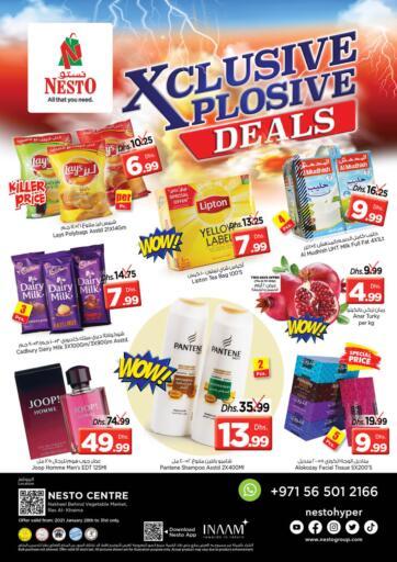 UAE - Ras al Khaimah Nesto Hypermarket offers in D4D Online. Ras Al Khaima, Sharjah. . Till 31st January