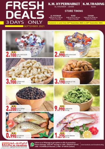 Oman - Muscat KM Trading  offers in D4D Online. Fresh Deals. . Till 25th September