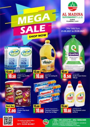UAE - Fujairah Al Madina Supermarket LLC offers in D4D Online. Gurfa, Fujairah. . Till 25th September