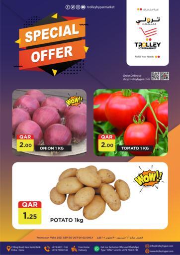Qatar - Al Rayyan Trolley Hypermarket offers in D4D Online. Special Offer. . Till 2nd October