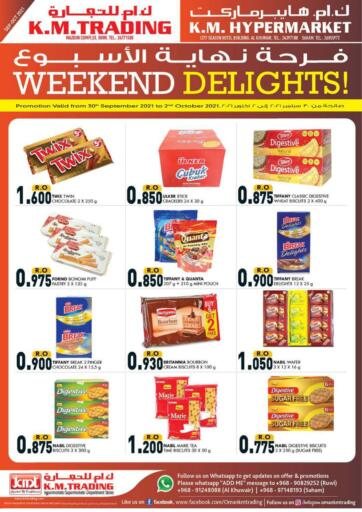 Oman - Muscat KM Trading  offers in D4D Online. Weekend Delights!. . Till 2nd October
