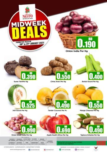 Bahrain NESTO  offers in D4D Online. Midweek Deals. . Till 31st August