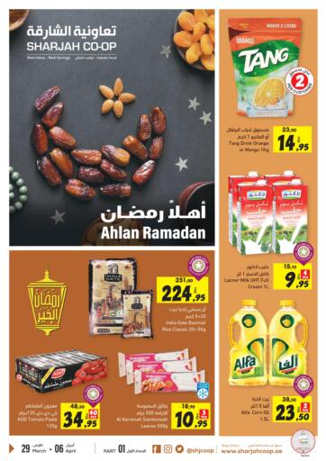 UAE - Fujairah Sharjah Co-Op Society offers in D4D Online. Ahlan Ramadan. Do Visit Sharjah Co-Op Society And Get Exciting Offers Availed On Varieties Of Products Till 06th April 2021.  Enjoy Shopping!!!. Till 6th April