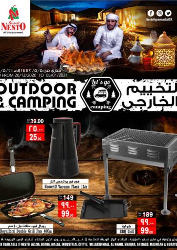KSA, Saudi Arabia, Saudi - Al Khobar Nesto offers in D4D Online. Outdoor And Camping. Now you can get your daily products from your favorite brands during 'Outdoor & Camping' Deals at Nesto Stores! This offer is only valid Until 05th January.. Till 5th January