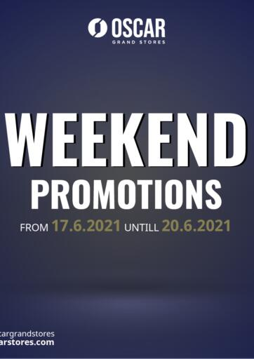 Egypt - Cairo Oscar Grand Stores  offers in D4D Online. Weekend Promotions. . Till 20th June