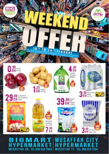 UAE - Abu Dhabi BIGmart offers in D4D Online. Weekend Offer.