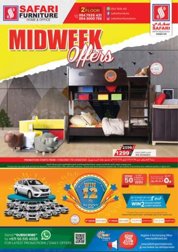 UAE - Dubai Safari Hypermarket  offers in D4D Online. Midweek Offers. . Till 24th February