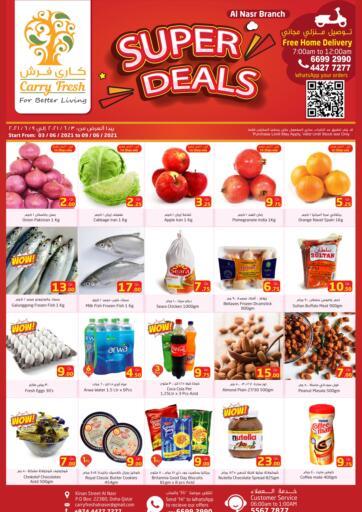 Qatar - Al-Shahaniya Carry Fresh Hypermarket offers in D4D Online. Super Deals. . Till 9th June