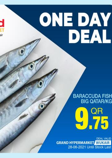 Qatar - Al-Shahaniya Grand Hypermarket offers in D4D Online. One Day Deal. . Only On 28th June