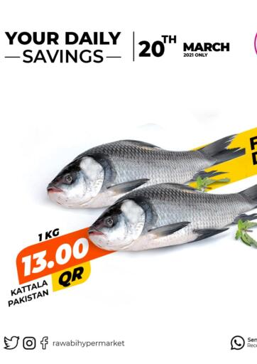 Qatar - Al Wakra Rawabi Hypermarkets offers in D4D Online. Your Daily Savings. . Only On 20th March