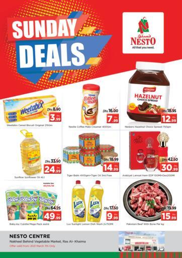 UAE - Ras al Khaimah Nesto Hypermarket offers in D4D Online. Ras Al Khaima, Sharjah. . Only On 07th March