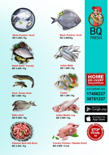 Bahrain BQ Fresh offers in D4D Online. Special Offer. Special Offer @ BQ Fresh!! Buy Fresh Meat, Chicken and Dairy products at reduced prices at BQ Fresh!! Offer Valid Until Stock Last... Until Stock Last