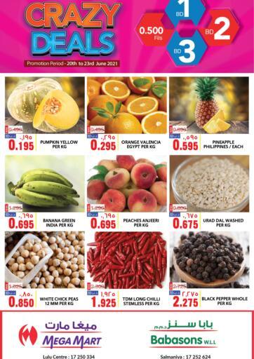 Bahrain MegaMart & Macro Mart  offers in D4D Online. Crazy Deals. . Till 23rd June