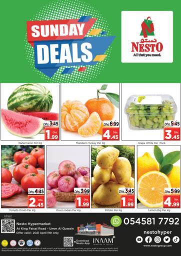 UAE - Umm al Quwain Nesto Hypermarket offers in D4D Online. Umm Al Quwain. . Only On 11th April
