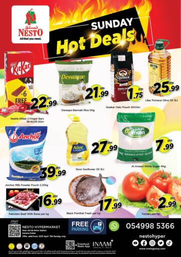 UAE - Dubai Nesto Hypermarket offers in D4D Online. Karama 1, Dubai. . Only On 11th April