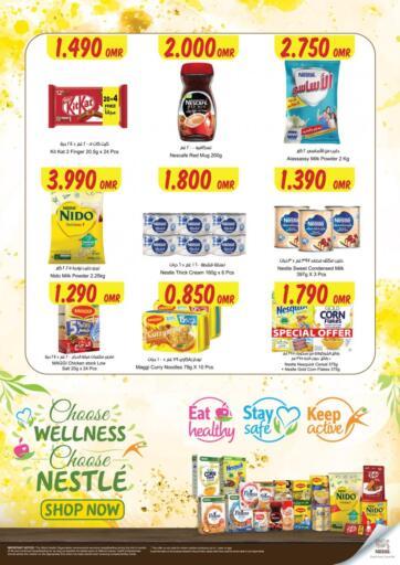 Oman - Sohar Sultan Center  offers in D4D Online. Nestle Special Offer. . Till 3rd July