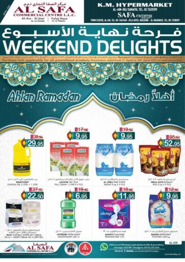 UAE - Al Ain K M Trading  offers in D4D Online. Weekend Delights!. . Till 20th April