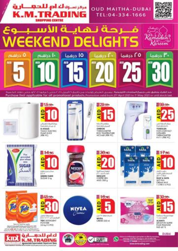 UAE - Dubai K M Trading  offers in D4D Online. Weekend Delights!. . Till 1st May