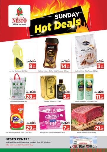 UAE - Ras al Khaimah Nesto Hypermarket offers in D4D Online. Ras Al Khaima, Sharjah. . Only On 14th March