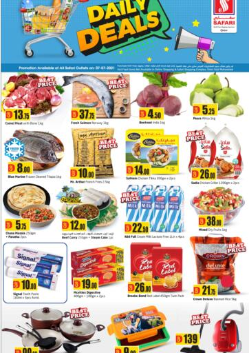 Qatar - Al-Shahaniya Safari Hypermarket offers in D4D Online. Daily Deals. . Only On 7th July