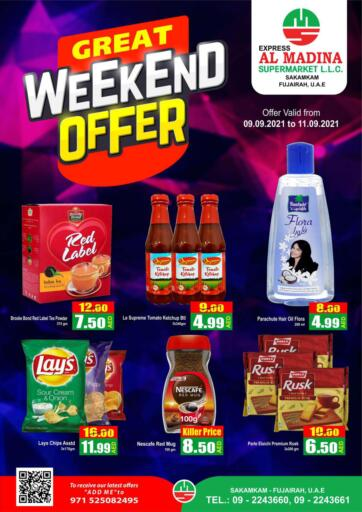 UAE - Fujairah Al Madina Supermarket LLC offers in D4D Online. Sakamkam, Fujairah. . Till 11th September