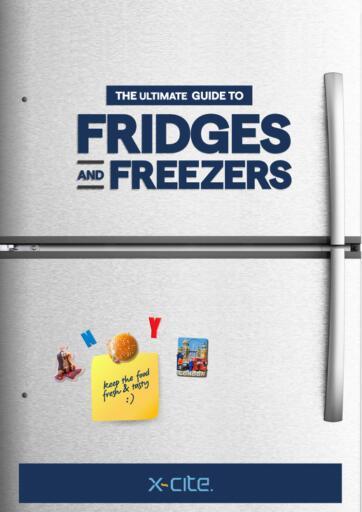 Kuwait X-Cite offers in D4D Online. Fridges And Freezers. . Until Stock Last