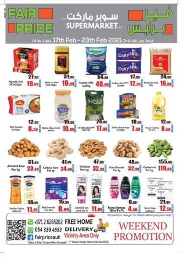 UAE - Abu Dhabi Fair Price Supermarket LLC offers in D4D Online. Weekend Promotion. . Till 23rd February